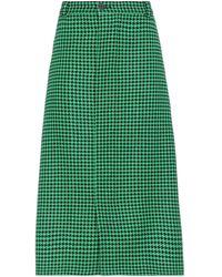 Balenciaga - Falda a media pierna - Lyst