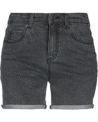 Obey Shorts vaqueros - Negro