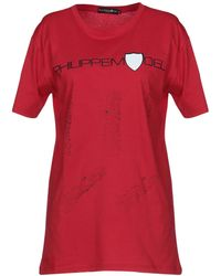 Philippe Model T-shirt - Rouge