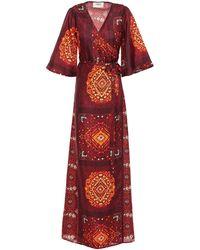 Ba&sh Vestido largo - Rojo