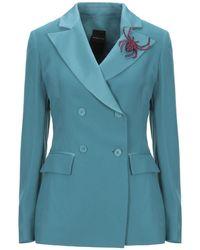 Marc Ellis Suit Jacket - Blue