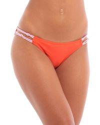 RYE SWIM Bikini-Höschen - Orange