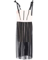 Twenty Easy By Kaos - 3/4 Length Dress - Lyst