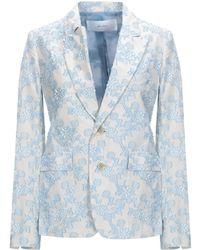 Julien David Suit Jacket - Blue