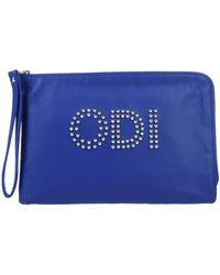 Odi Et Amo Handbag - Blue