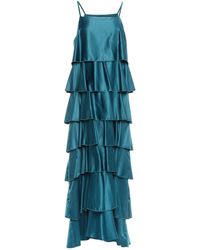Souvenir Clubbing Vestito lungo - Blu