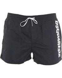 DSquared² Boxer da mare - Nero