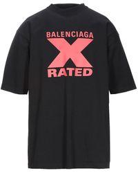 Balenciaga T-shirts - Schwarz