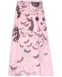 Giamba Long Skirt - Pink