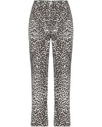 One Teaspoon Pantalon en jean - Marron