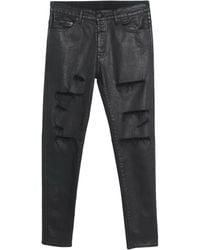 Marcelo Burlon Denim Pants - Black