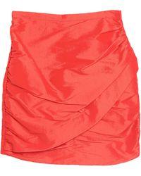 KATE BY LALTRAMODA Mini Skirt - Red