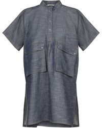 Hache Denim Shirt - Blue