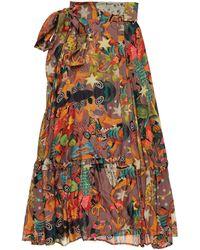 Chufy Long Skirt - Brown