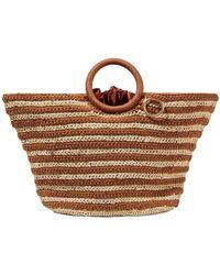Mizele Handbag - Brown