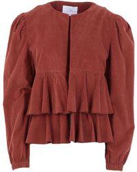Soallure Suit Jacket - Brown