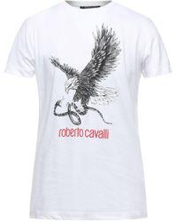 Roberto Cavalli Camiseta - Blanco