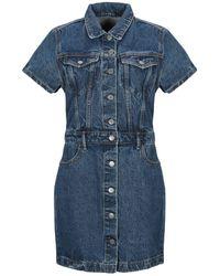 GRLFRND Short Dress - Blue