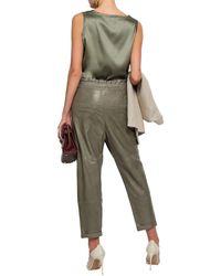 Brunello Cucinelli Pants - Gray