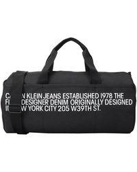 Calvin Klein Bolso de fin de semana - Negro