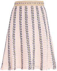 M Missoni Midi Skirt - Pink
