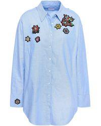 Cinq À Sept Shirt - Blue