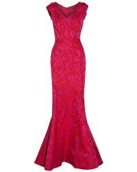 Zac Posen Long Dress - Red
