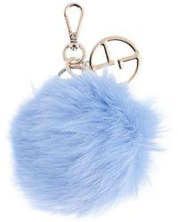 Giorgio Armani Key Ring - Blue