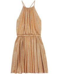 Halston Knee-length Dress - Metallic