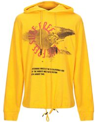 McQ Sweat-shirt - Jaune