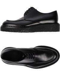 Jil Sander Lace-up Shoe - Black