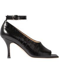 A.W.A.K.E. MODE Court Shoes - Black