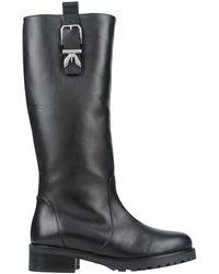 Patrizia Pepe Knee Boots - Black
