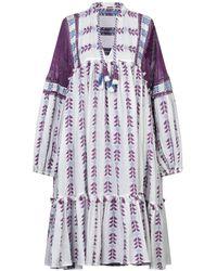 Dodo Bar Or 3/4 Length Dress - White