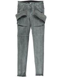 Rick Owens DRKSHDW Pantalon en jean - Gris