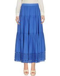 Plein Sud - 3/4 Length Skirt - Lyst