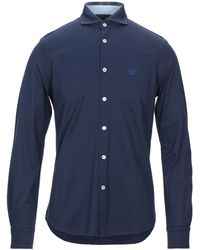 Henry Cotton's Camicia - Blu