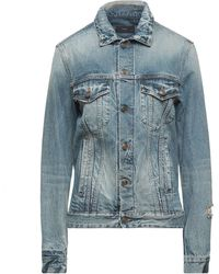 Alanui Manteau en jean - Bleu