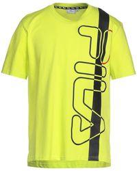 Fila T-shirt - Giallo