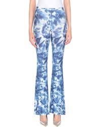 Black Coral Trouser - Blue