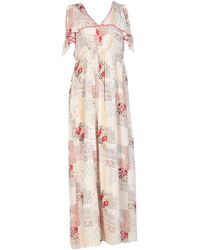 INTROPIA Long Dress - Natural