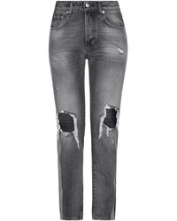 Department 5 Denim Trousers - Grey
