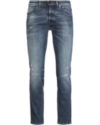 Brian Dales Denim Trousers - Blue