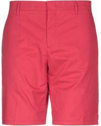 Paul Smith Shorts & Bermuda Shorts - Red