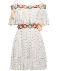 Manoush Short Dress - White