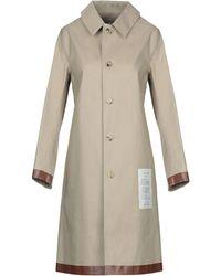 Mackintosh Overcoat - Natural