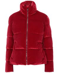 Gas Down Jacket - Red