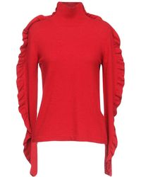 Alessandro Dell'acqua Turtleneck - Red
