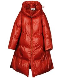 MM6 by Maison Martin Margiela Down Jacket - Red