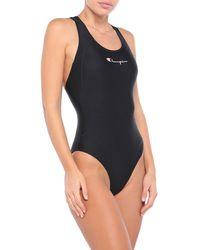 Champion One-piece Swimsuit - Black